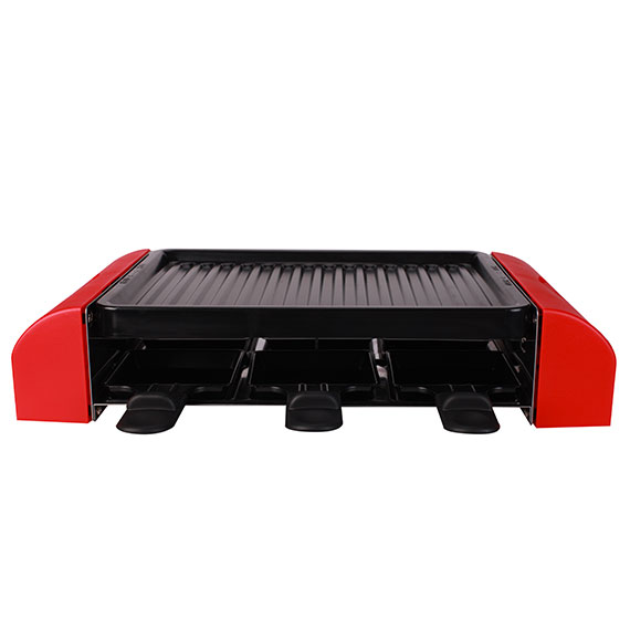 6 or 8 person raclette grill recettes thomson. Black Bedroom Furniture Sets. Home Design Ideas
