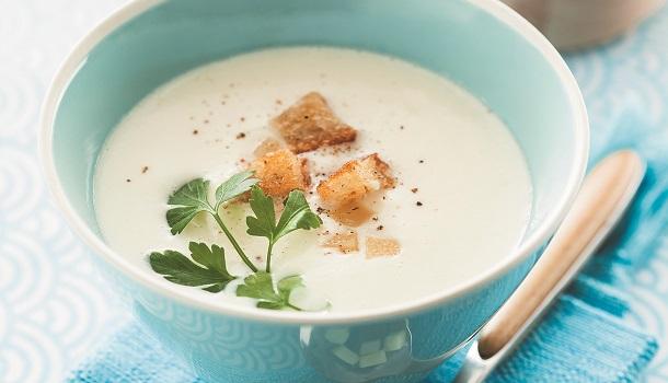 Recette soupe chou-fleur
