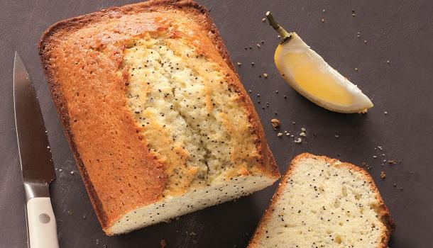 Recette cake au citron et pavot