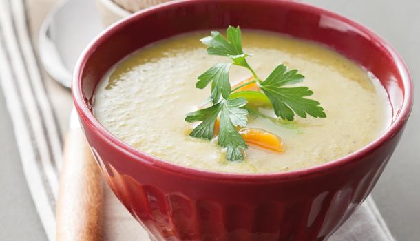 Recette de Soupe de légumes d'hiver & croûtons