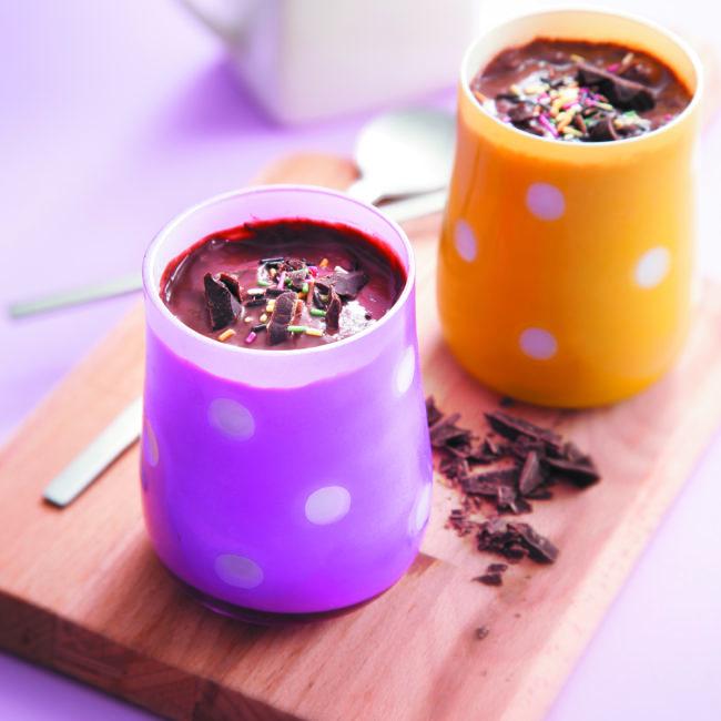 Recette Yaourt au chocolat