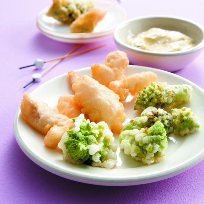 Recette de Tempura de poisson & légumes